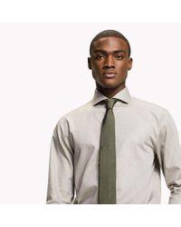 Tommy Hilfiger Gray Shawn Slim Fit Shirt for men