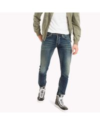 Tommy Hilfiger Blue Straight Fit Jeans for men