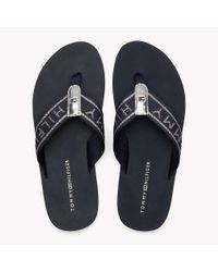 Tommy Hilfiger Blue Flexible Beach Sandals