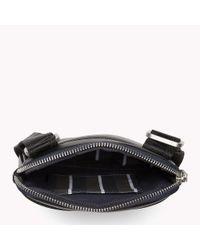 Tommy Hilfiger Black City Business Mini Flat Crossover Bag for men