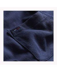 Tommy Hilfiger Black Jersey Pocket T-shirt for men