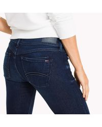 Tommy Hilfiger Blue Scarlett Skinny Fit Jeans