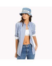 Tommy Hilfiger Blue Blend Stripe Shirt