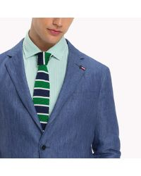 Tommy Hilfiger Blue Casual Slim Fit Blazer for men