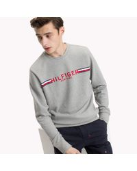Tommy Hilfiger Gray Iconic Tommy Sweatshirt for men