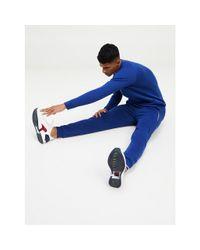 Tommy Hilfiger Blue Fleece Sweatshirt for men