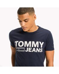 Tommy Hilfiger Blue Organic Cotton Jersey T-shirt for men