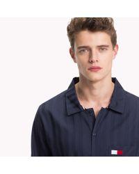 Tommy Hilfiger Blue All-over Stripe Shirt for men