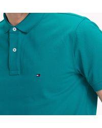 Tommy Hilfiger Blue Regular Fit Polo for men