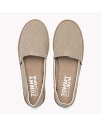 Tommy Hilfiger Natural Flexible Casual Slip-ons