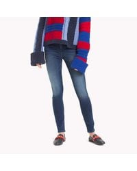 Tommy Hilfiger Blue Skinny Fit Jeans