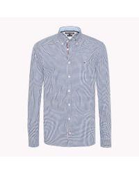 Tommy Hilfiger Blue Check Regular Fit Shirt for men