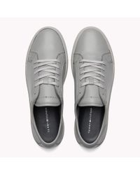 Tommy Hilfiger Gray Classic Leather Trainers for men