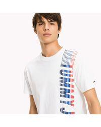 Tommy Hilfiger White Jersey Regular Fit T-shirt for men