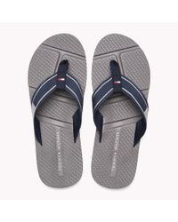 Tommy Hilfiger Blue Flag Flip-flops for men