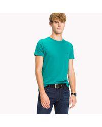Tommy Hilfiger Blue Flag Slim Fit T-shirt for men