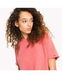 Tommy Hilfiger Multicolor Short Sleeved Raglan Sweatshirt