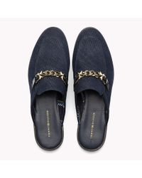Tommy Hilfiger Blue Denim Slip-on Loafers