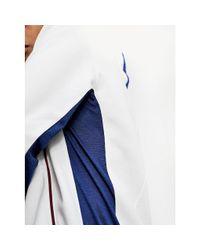 Tommy Hilfiger Fleece Hoodie Met Contrasterende Biezen in het White voor heren