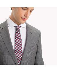 Tommy Hilfiger Gray Virgin Wool Regular Fit Suit for men