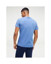 Tommy Hilfiger Blue Logo T-shirt for men