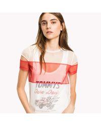 Tommy Hilfiger Multicolor Tulle Vest T-shirt