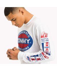 Tommy Hilfiger White Long Sleeve T-shirt for men
