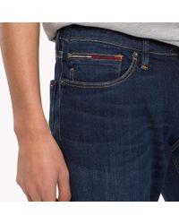 Tommy Hilfiger Blue Slim Fit Stretch Jeans for men