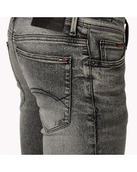 Tommy Hilfiger Black Skinny Fit Jeans for men
