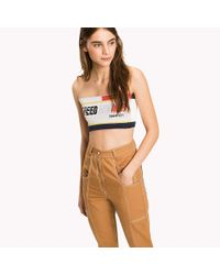 fcd617f907 Tommy Hilfiger. Women s Tommy Flag Bandeau Top