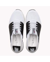 Tommy Hilfiger White Tommy Jeans Knit Trainers