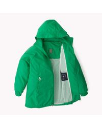 Tommy Hilfiger Green Packable Parka