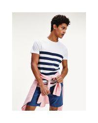 Tommy Hilfiger Blue Stripe T-shirt for men