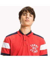 Tommy Hilfiger Red Rugby Shirt for men
