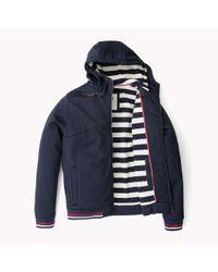 Tommy Hilfiger Black Hooded Jacket for men