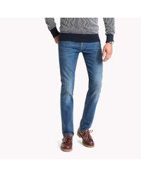 Tommy Hilfiger Blue Denton Straight Fit Jeans for men