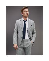 Tommy Hilfiger Essential Th Flex Regular Fit Blazer in het Gray voor heren