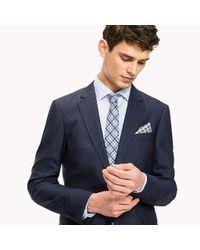 Tommy Hilfiger Blue Italian Slim Fit Suit for men