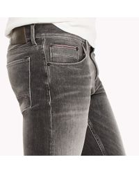 Tommy Hilfiger Gray Bleecker Slim Fit Jeans for men