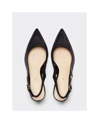 Sandales à monogramme TH Tommy Hilfiger en coloris Black