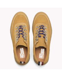 Tommy Hilfiger Multicolor Suede Creeper Sole Shoe for men