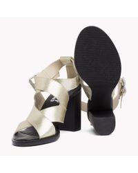 Tommy Hilfiger Metallic Heeled Sandals