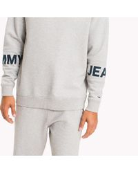 Tommy Hilfiger Gray Relaxed Fit Sweatshirt for men