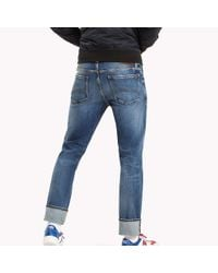 Tommy Hilfiger Blue Straight Fit Jeans for men