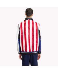 Tommy Hilfiger Multicolor Pieced Leather Jacket for men