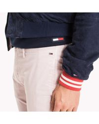 Tommy Hilfiger Multicolor Twill Slim Fit Chinos for men