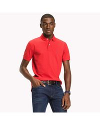 Tommy Hilfiger Red Big & Tall Classic Regular Fit Polo - Big & Tall for men