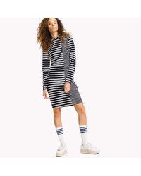 Tommy Hilfiger Black Stripe Bodycon Dress