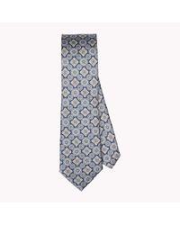 Tommy Hilfiger Blue Floral Silk Tie for men
