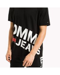 Tommy Hilfiger Black Relaxed Fit T-shirt for men